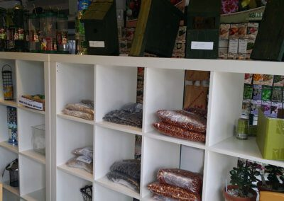 A Large Selection of Bird Seed