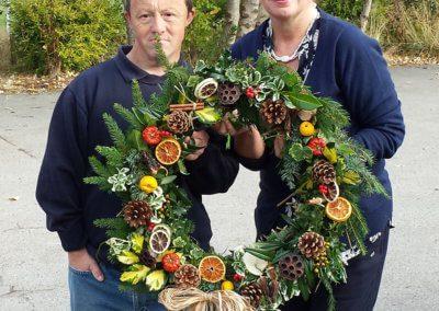 Horticap Wreaths