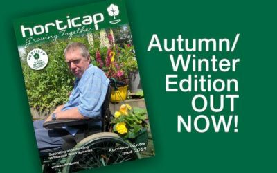 It's here…the latest Horticap Newsletter is out!